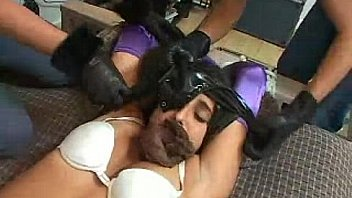 Batgirl robbed humiliated LAN
