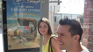 Spanish is easy to pick-up girls and fuck on the street