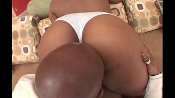 Big black booty gets pounded and streched by big black cock