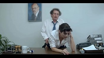 Getting fucked by boss and employee (mainstream film)