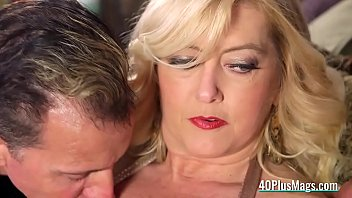 Big breasted mature blonde divocee
