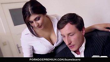 LETSDOEIT - Big Booty Teen Secretary Has A Crush On Her Boss