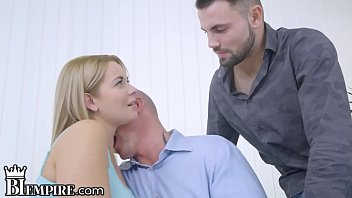 Watch 2 Guys and  Euro Chick_All Fuck Each Other BiSexually preview