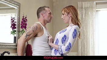 Karups - Busty MILF Lauren Phillips Fucks Her Repair Man In The Bathroom