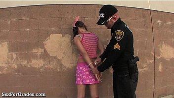 Bad Girl Teen Busted By Teacher!