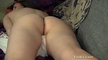 Busty Yanks Girl Giullietta Masturbating