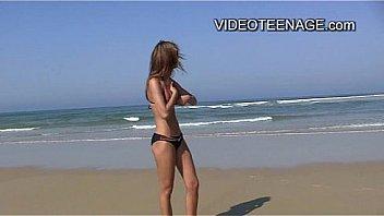 sexy teens at beach
