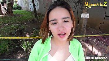 MAMACITAZ - Petite Colombian Babe Julia Garcia Has Intense Sex With A Big Dick Stranger