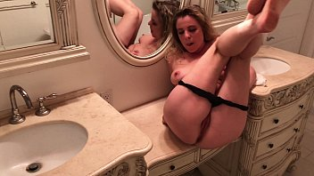 Watch Stepmom gets stepson's cum inside her by accident preview