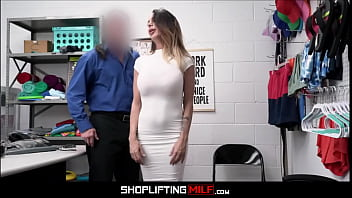 Hot Big Tits MILF Caught Shoplifting Sex With Guard After Deal