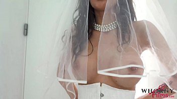 Hot busty bride loves a hard rough ass fuck on her wedding day 'Trailer'