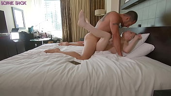 BIG TIT BLONDE PORNSTAR GETS A HARD PUSSY POUNDING IN HOTEL