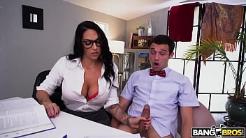 BANGBROS - Cheeky Student Pulls His Dick Out In Front Of Busty Tutor Lilith Morningstar