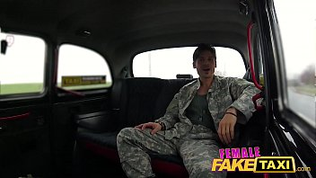 Watch Female Fake Taxi Deep internal creampie from military dick preview