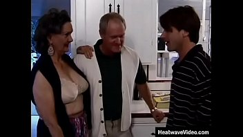 Hey My Grandma Is A Whore #8 - Janet, Dave Hardman - 60yo wife is a horny slut despite her age and her husband wants to watch his stepson fuck her hard