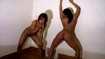 Ebony nude dancers