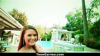 TeenCurves - Curvy Abby Cross and Her Amazing Ass!
