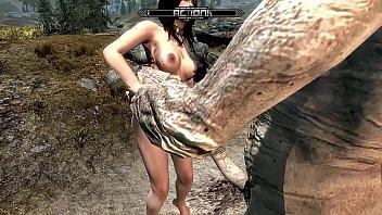 Skyrim Giant Violation