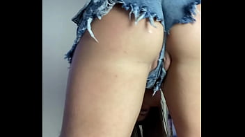 Pussy Tease in Shorts