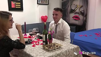 Tomy and Noa's Valentine with another swinger couple