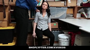 Teen Thief (Kylie Martin) Tied Up And Fucked By LP Officer