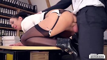 LETSDOEIT - Office Babes Are Getting Banged Hard From Behind