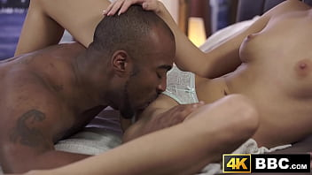 Stunning babe licked and banged by BBC
