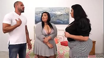 BBW Sofia Rose and Nirvana Lust Fuck Stepfather