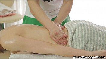 Massage-X - Her first ever sexy oil massage