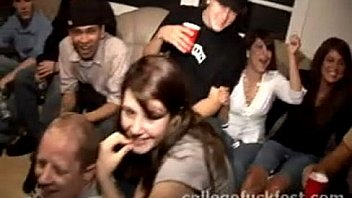 Public Fucking during a College Party with a Pornstar