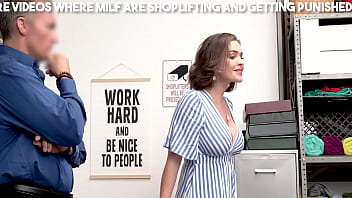 Blonde Hot Milf Is Stealing Things From Store