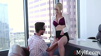 Eating A MILF On The Office Table