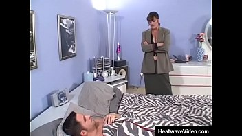 MILTF #9 - Candy Vegas, Kris Slater - Stepson is getting the best fuck of his life with horny stepmom