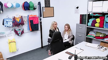 Hot MILF thief and teen dauther got fucked by a cop