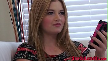 Chubby big ass stepsister teen gets banged by big cock in pov
