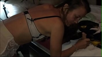 French Whore Clothed-sex in Dress, Nightie, satin Panties and lingerie, Heels & Fishnet, Blowjob, RimJob, DirtyTalk, Spanking, Anal Fucking