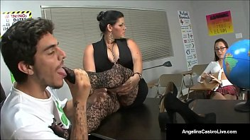 Foot Fetish Class With Angelina Castro!