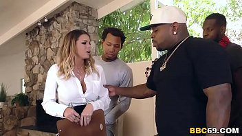 Brooklyn Chase Interracial Group Sex