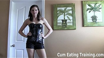 Eat your cum for me