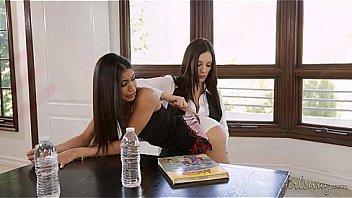 Don't skip the school, naughty girl! - Veronica Rodriguez, Jelena Jensen