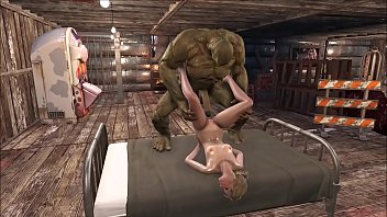 FO4 The Blonde Hottie and the Green Monster
