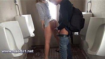 toilet public sex by naomi1