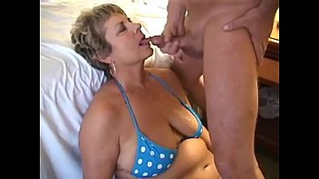 Amateur white wife glory hole creampie