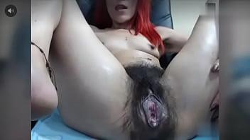 Milf gaping pussy