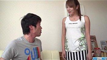 Chieri Matsunaga loves it deep in her hairy vagina