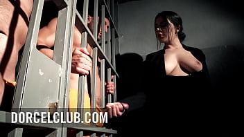 Sexy Italian prison boss gets fucked