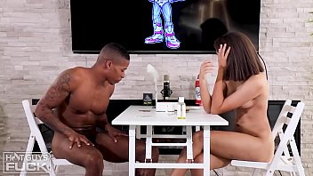 Pretty Boy Mick Gives New Eighteen Y/O Michelle The First Ever BBC She's Ever Had!