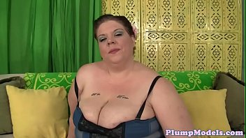Bbw of cock loves the hard taste titfucked something is