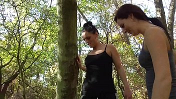 Femdom Fetish Girls trample slaves