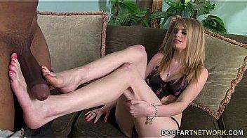 Allie James BBC Foot Fetish